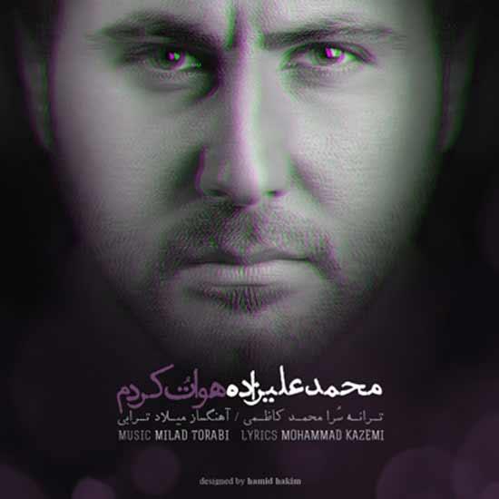 105 دانلود آهنگ جدید محمد علیزاده به نام هواتو کردم